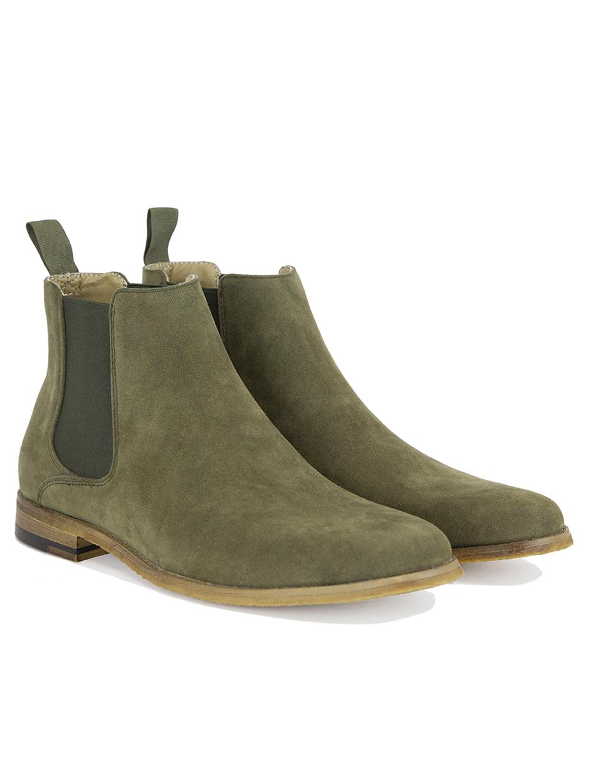Chelsea Boots Olive Queu Queu