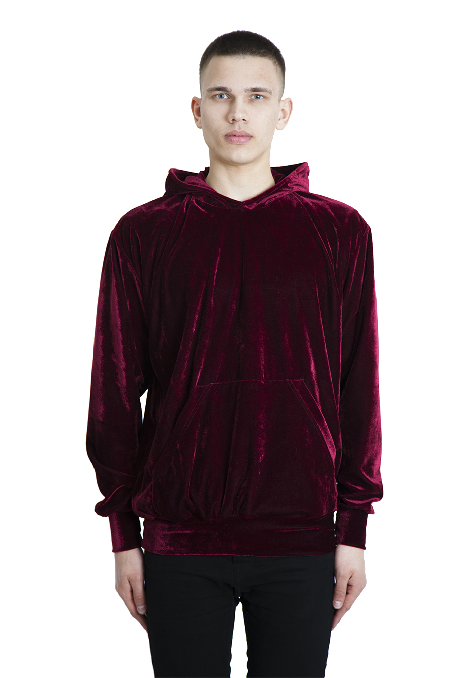 Burgandy hoodie